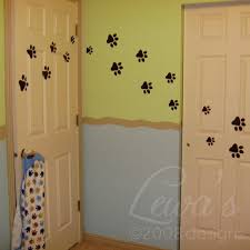 paw print decals these would be awesome in the dog room dog
