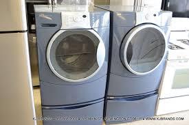kenmore elite washer and dryer. bundle * kenmore elite front load *energy star* washer \u0026 dryer with pedastal (blue/silver) elite and