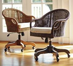 Luxury Rattan Swivel Desk Chair Wingate Pecan Stain Cushion From Pottery  Barn Thi Would Look So Good In The Office W My Antique Table Rocker Bar Stool  Pottery Barn Rattan Chair 297