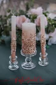 Свадебные свечи: лучшие изображения (35) | Декор, Толстые ...