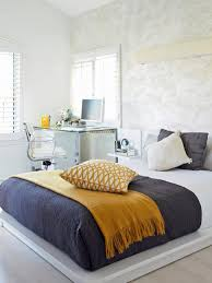 interior stunning grey white and yellow bedding black pink