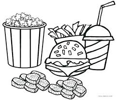 Restaurant Coloring Page Printable Restaurant Coloring Pages Marcquintaylor Com