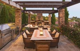 superb exterior house lights 4. Perfect Outdoor Kitchen Ideas With Wicker Chairs And Long Wooden Table Using Superb Porch Light Latin Exterior House Lights 4