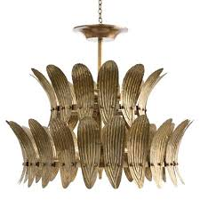 arteriors home chandelier vintage brass inch eight light valerie 89024