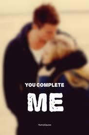 You Complete Me Quotes Mesmerizing Romantic You Complete Me Quotes And Messages TheFreshQuotes