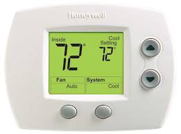 digital non programmable thermostat honeywell honeywell pro 3000 home depot at Honeywell Thermostat Pro 3000 Wiring Diagram