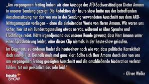 Die Dummheit Der Heute Show Und Der Fanatismus Der Afd übermedien