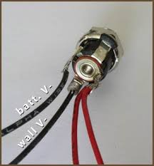 how to wire panel components closed circuit dc power jack