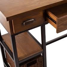 Harper Blvd Maude Industrial Wood Desk - Free Shipping Today -  Overstock.com - 17720877