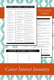 best ideas about career exploration middle career interest inventory printable