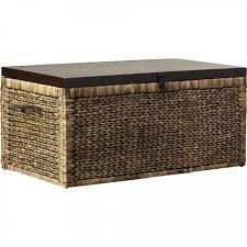 jeco outdoor wicker patio furniture storage deck box designs