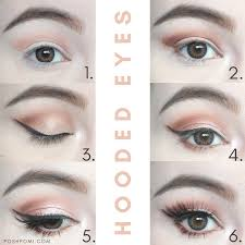 you get the gist i decided i wanted to show you how i got this rose gold smokey eye from the other day and share some eye makeup tips for hooded eyes