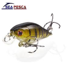 <b>SEAPESCA Minnow Fishing Lure</b> 4cm 4.2g Crank Hard Bait artificial ...
