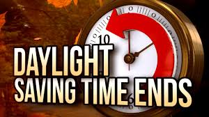 Image result for daylight savings time reminder