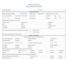 Patient Registration Form | Patient History Form