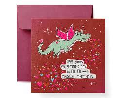 Dragon Valentines Day Card