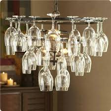 ceiling light wine glass chandelier pendant lighting with 6 lights in wine glass feature wine glass not included