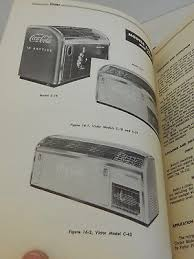 Coca Cola Vending Machine Manual Simple VINTAGE 48 ORIGINAL Coca Cola Vending Machine Service Manual Vendo