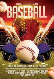 Free Baseball Flyer Template Baseball Flyer Template