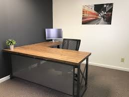 office desk l. Wonderful Office Executivecarrucaofficedesklshape_image_0 Throughout Office Desk L
