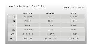 Nike Dri Fit Size Guide Fitness And Workout