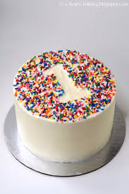 rainbow sprinkle 1st birthday cake