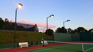 How Much Does It Cost To Light A Tennis Court Athletic Court Lighting Vintage Contractors