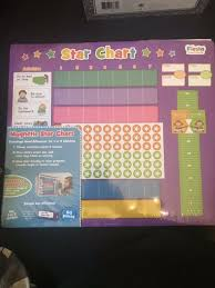 Fiesta Crafts Star Chart Fiesta Crafts Star Chart Reward Magnetic Activity Extra Large 43 X 38 Cm