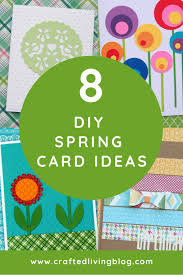 Spring Photo Cards 8 Diy Spring Card Ideas Crafted Living