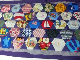 Machine Quilting a Large Quilt | jailedart & Quilts are nothing but blocks of fabric, so break up the blocks. I find it  easiest to split my quilts into rows. Above, I machine quilted ... Adamdwight.com