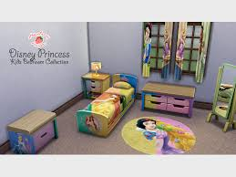 Sims Bedroom Mod The Sims Disney Princess Kids Bedroom Collection