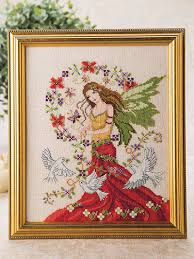Angel Cross Stitch Patterns Enchanting Counted CrossStitch Patterns Peace Angel Cross Stitch Pattern