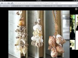 DIY: shell tassels - with Grannys shells?