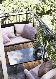 narrow balcony furniture. Simple Balcony Compact Furniture Means That This Small Balcony From Marie Claire Maison  Still Has Plenty Of Seating With Narrow Balcony Furniture A