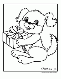 Small Picture Birthday Puppy Printable Coloring Pages Animal Jr