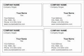 Simple Business Card Template Best Of Blank Business Card Template