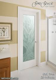 interior glass doors. Interior Glass Doors Etched Rustic Decor Oak Trees S