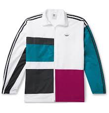 Design Your Own Adidas Original Jacket Color Block Shell Track Jacket