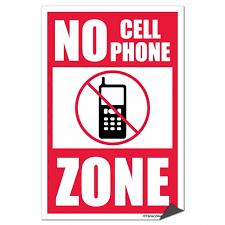No Cell Phone Sign Printable Free Printable No Cell Phone Sign Download Free Clip Art