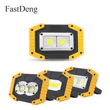 <b>LED Portable</b> Spotlight <b>20W</b> 400LM <b>Rechargeable</b> With 18650 ...