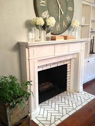 Decorative Hearth Tiles 60 best Fireplace Mantels images on Pinterest Fireplace mantels 35