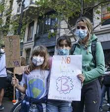 Arjantin'de iklim değişikliği protestosu - BakPara