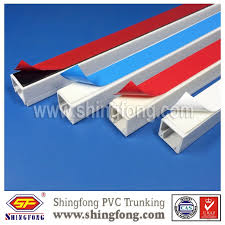 electrical pvc cable wire telecom gutter duct for south africa