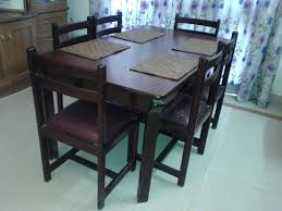 used dining table chairs inspiring dining
