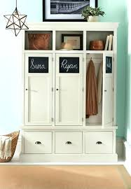 wooden storage lockers wooden lockers with doors home decorators collection wood storage locker in polar white wooden storage lockers