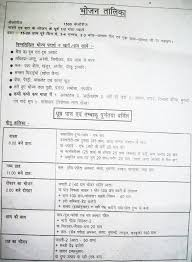 Indian Diet Chart Pdf Diet Chart For Weight Loss For Male In India Pdf In Hindi