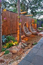 outdoor landscaping ideas. Home Design Simple Backyard Landscaping Ideas Have Sloped Landscape Interesting Outdoor