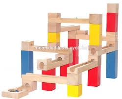 block marble runs wooden block game marble run play