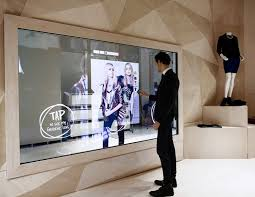 tv in mirror. body feeling fitting mirror interactive digital display,multi touch screen magic tv in