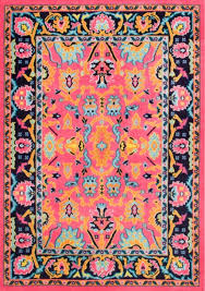 bright colored persian rugs